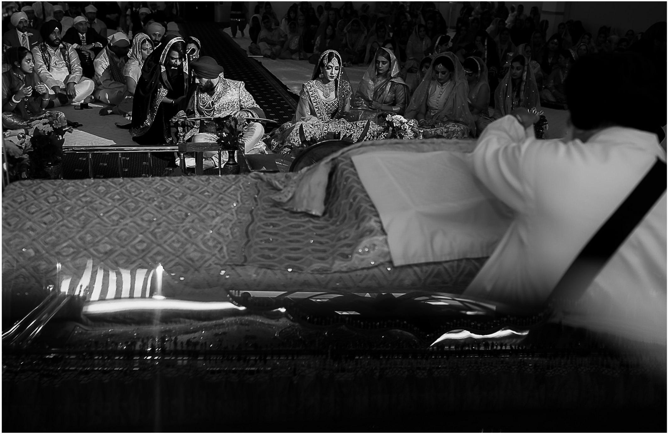 Sikh wedding Photography Wednesfield Gurdwara by SikhandDread 02