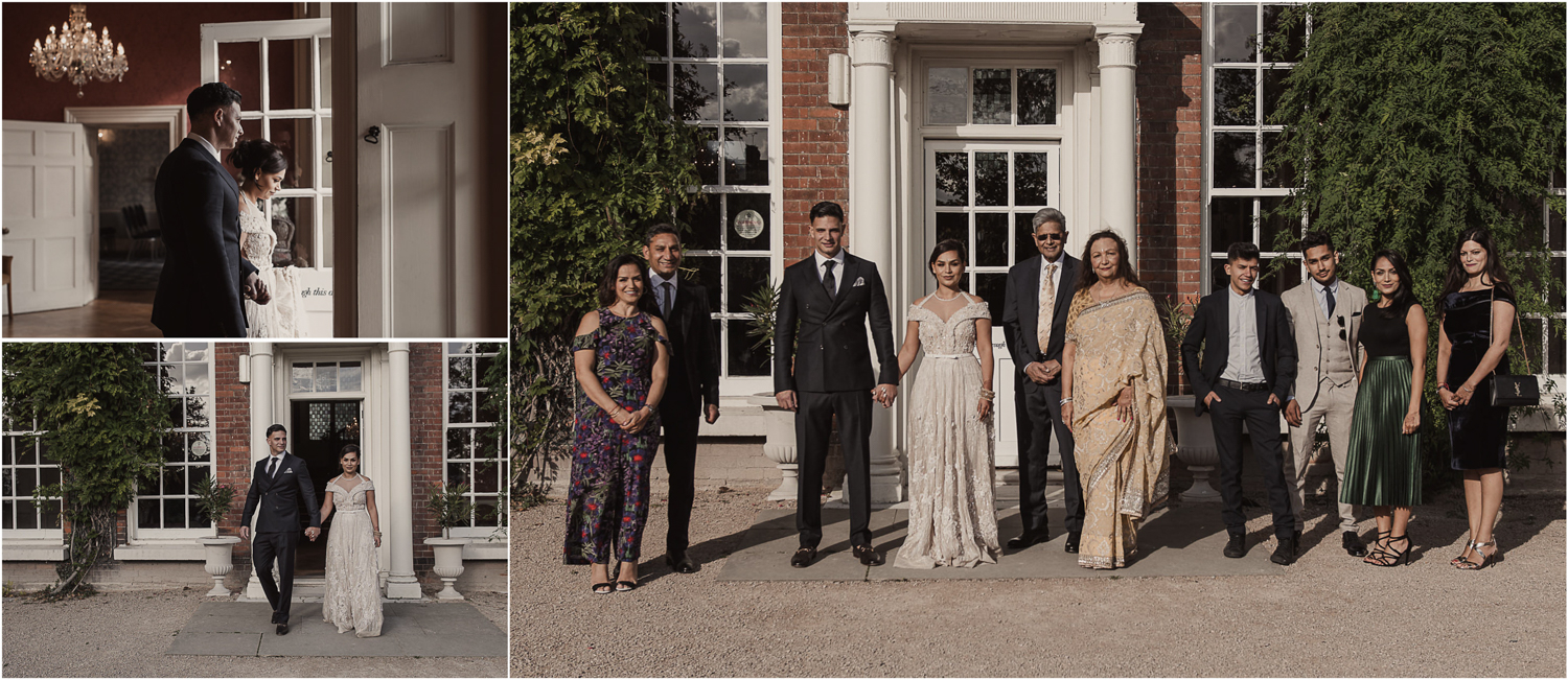 Langtons House wedding guest group picture