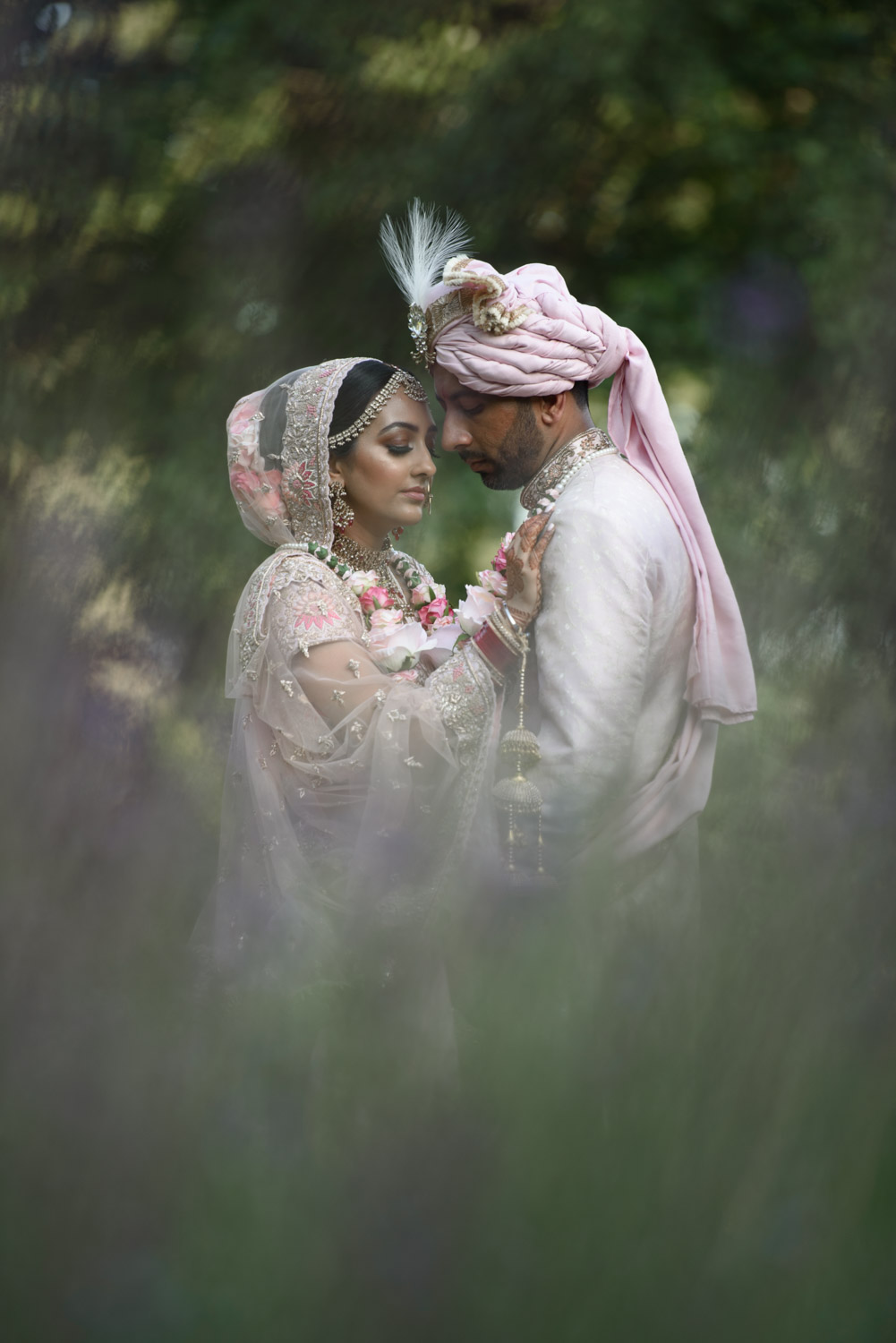 Asian Wedding Photography London - Sophie & Shohill
