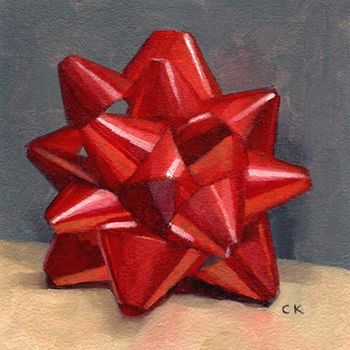 Kornacki Wabisabi Red Bow