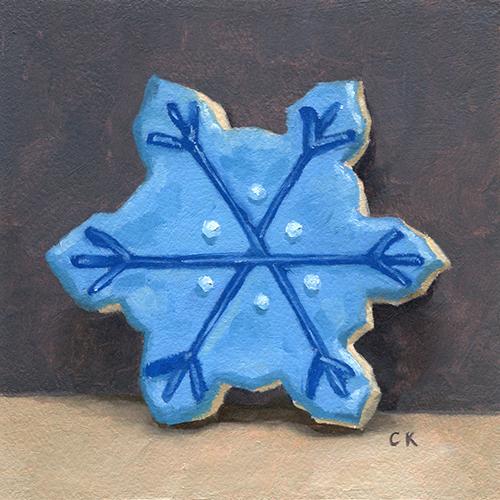 Kornacki Wabisabi Snowflake Cookie