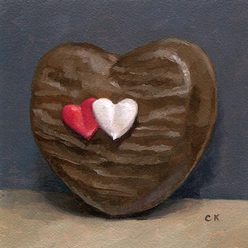 Kornacki Wabisabi Valentines Chocolate Heart