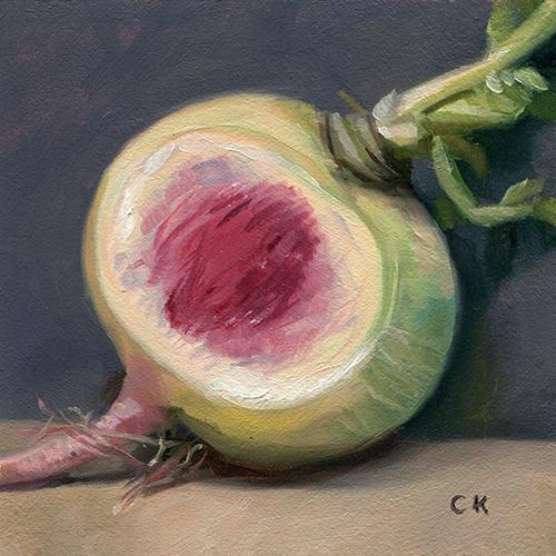 Kornacki WabiSabi Watermelon Radish