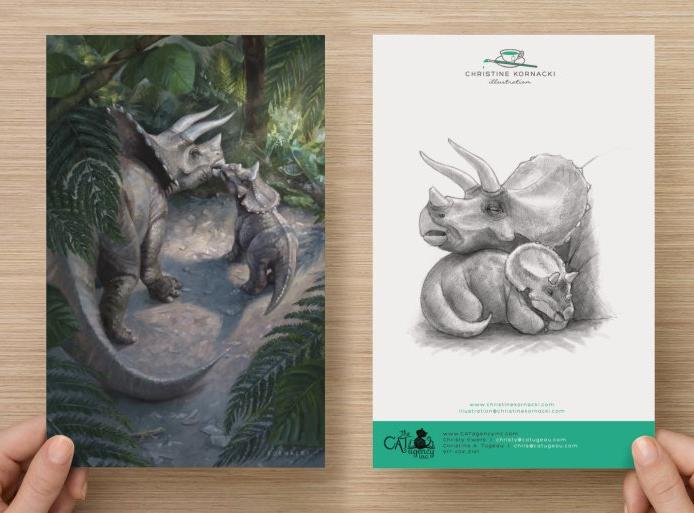 Final Postcard designs