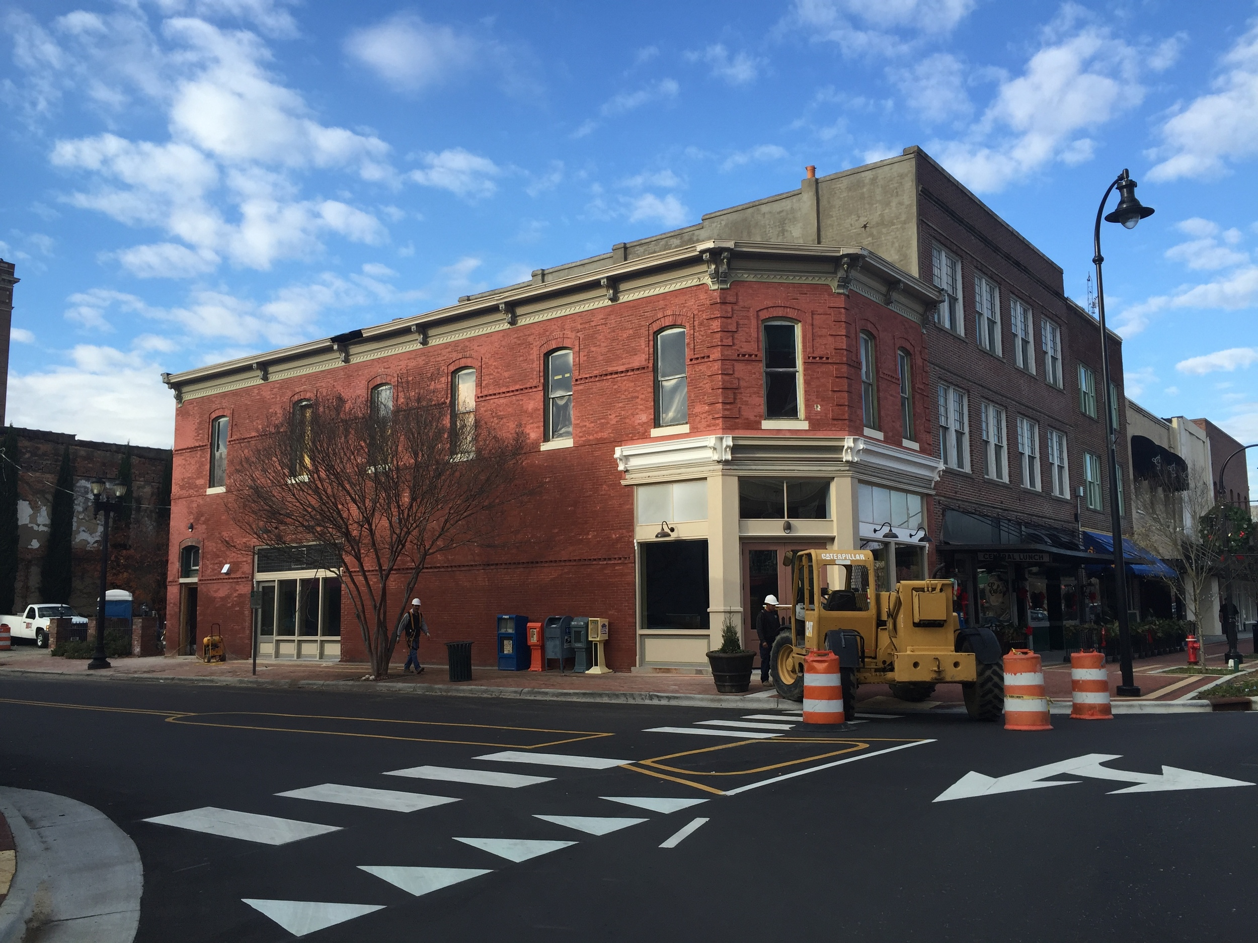 Mid-Renovation, December 2015