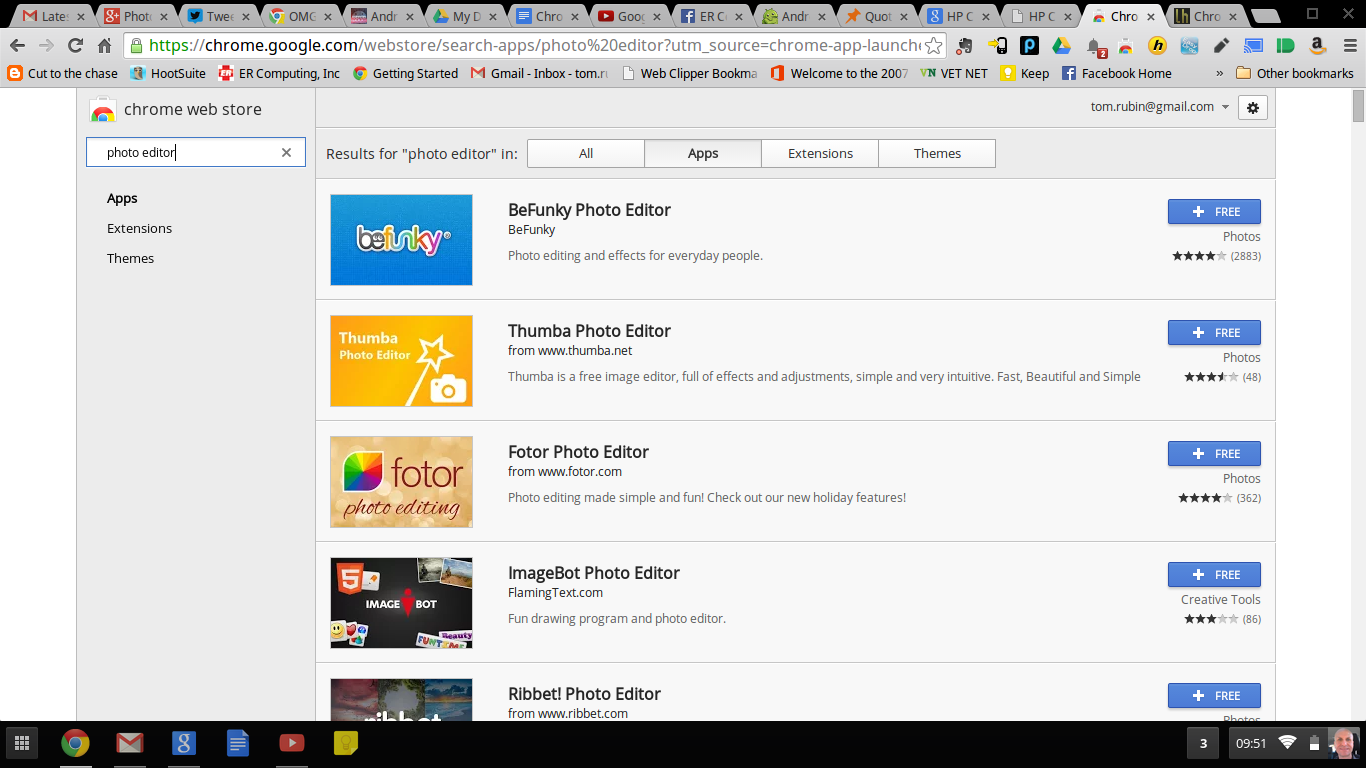 The Chrome Web Store