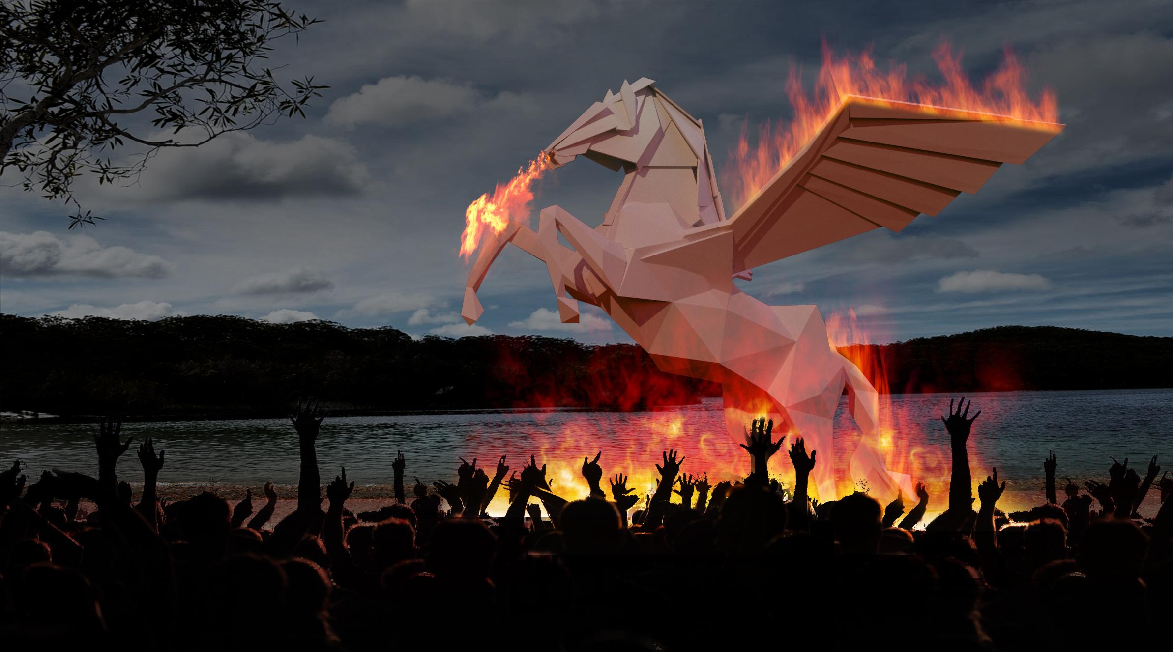 Pegasus Effigy
