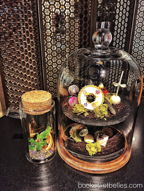 Secret Garden Sweets (NTD 980) and Secret Herbal Tea (NTD 260)
