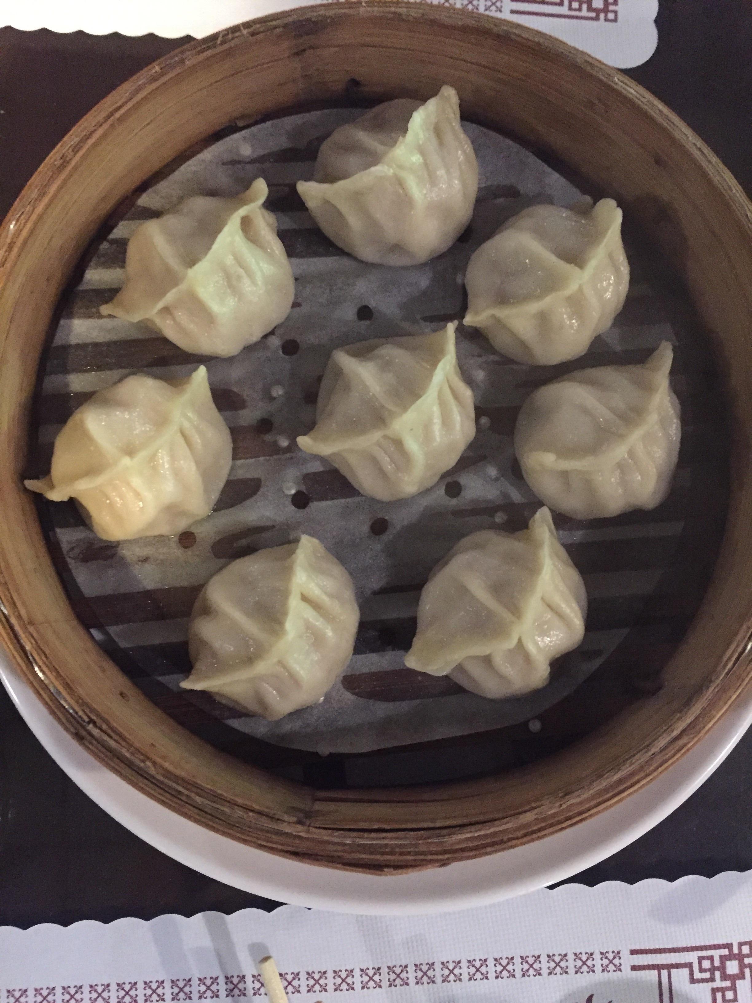 Steamed hand-made pork dumpling