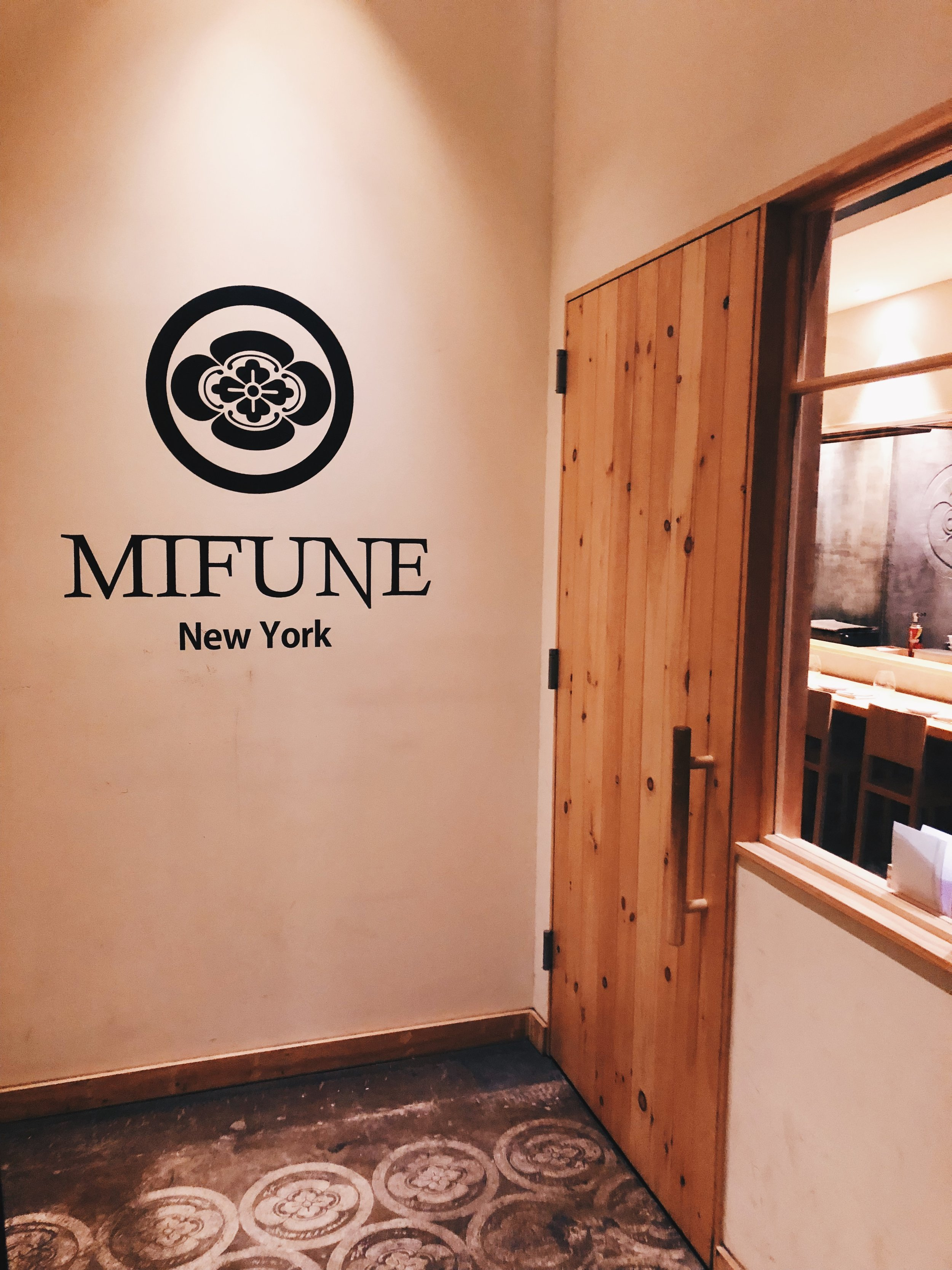 MIFUNE New York entrance