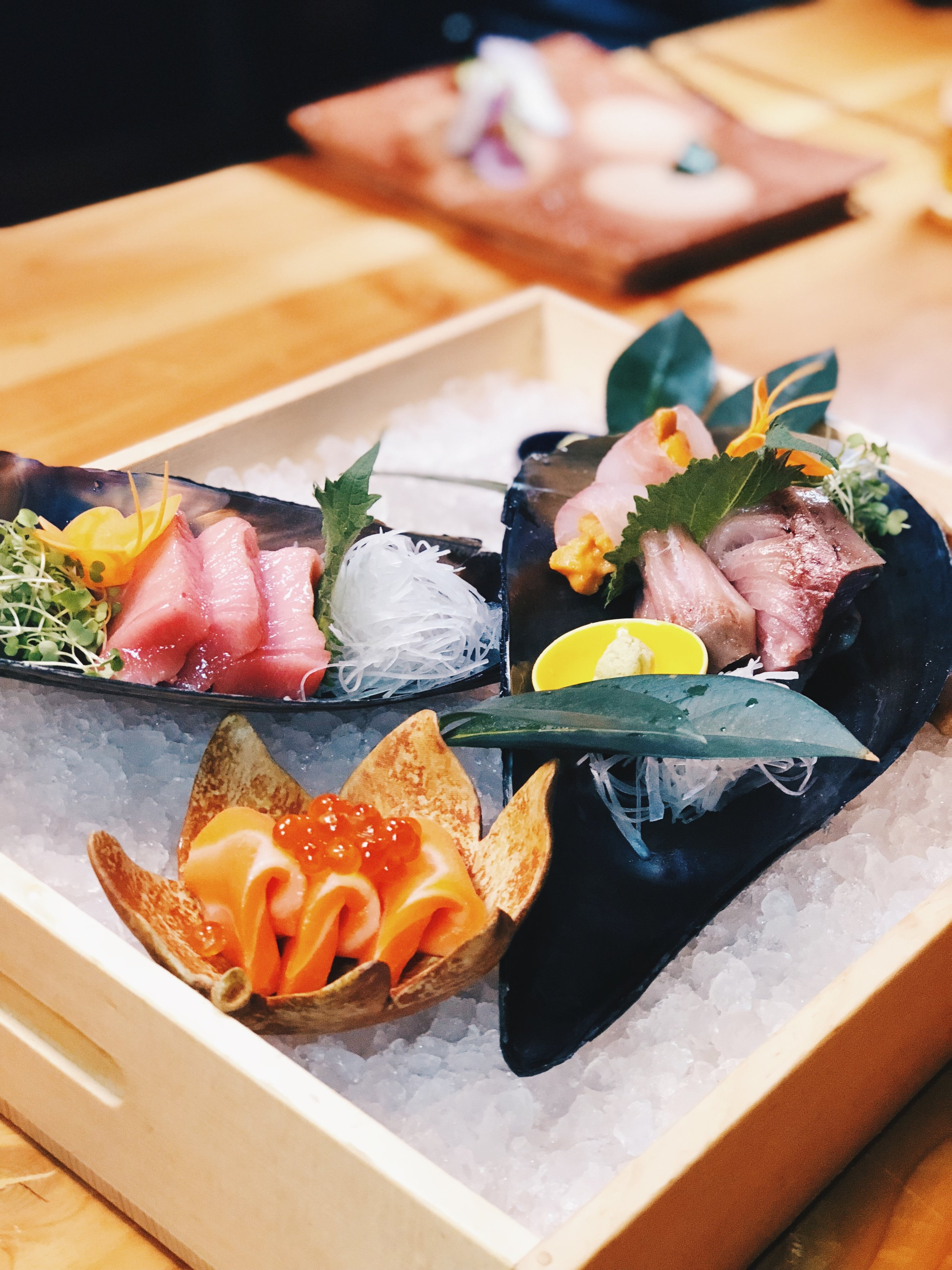 Really fresh sashimi assortment. A must-have dish.