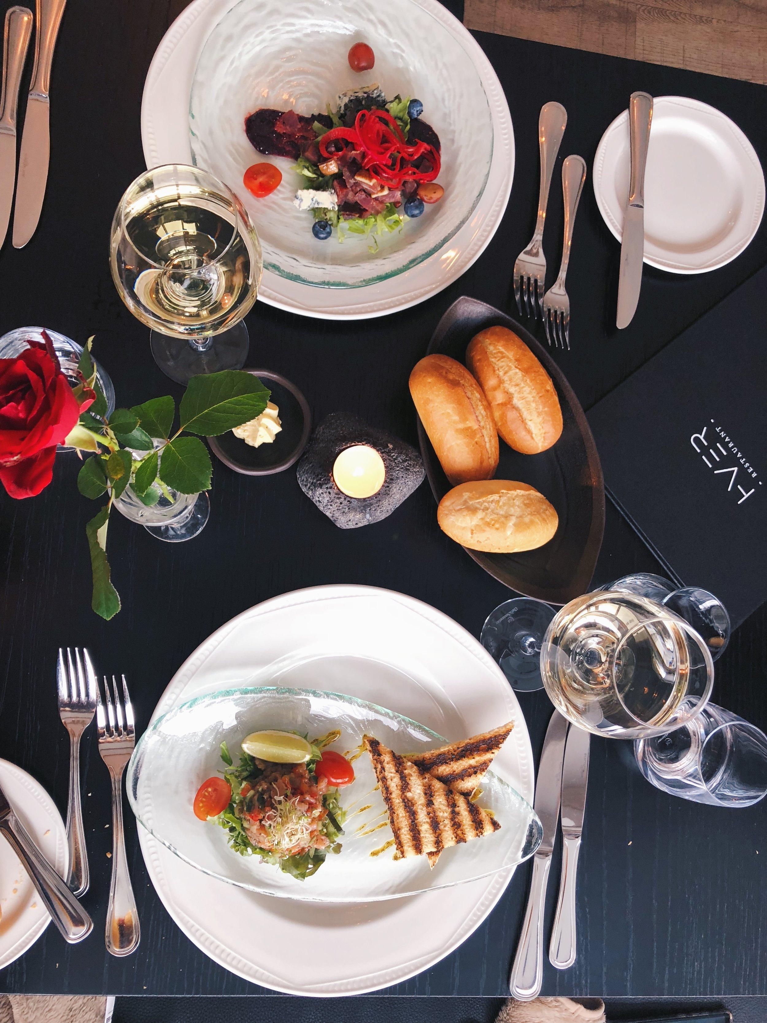 HVER Restaurant in Hotel Örk