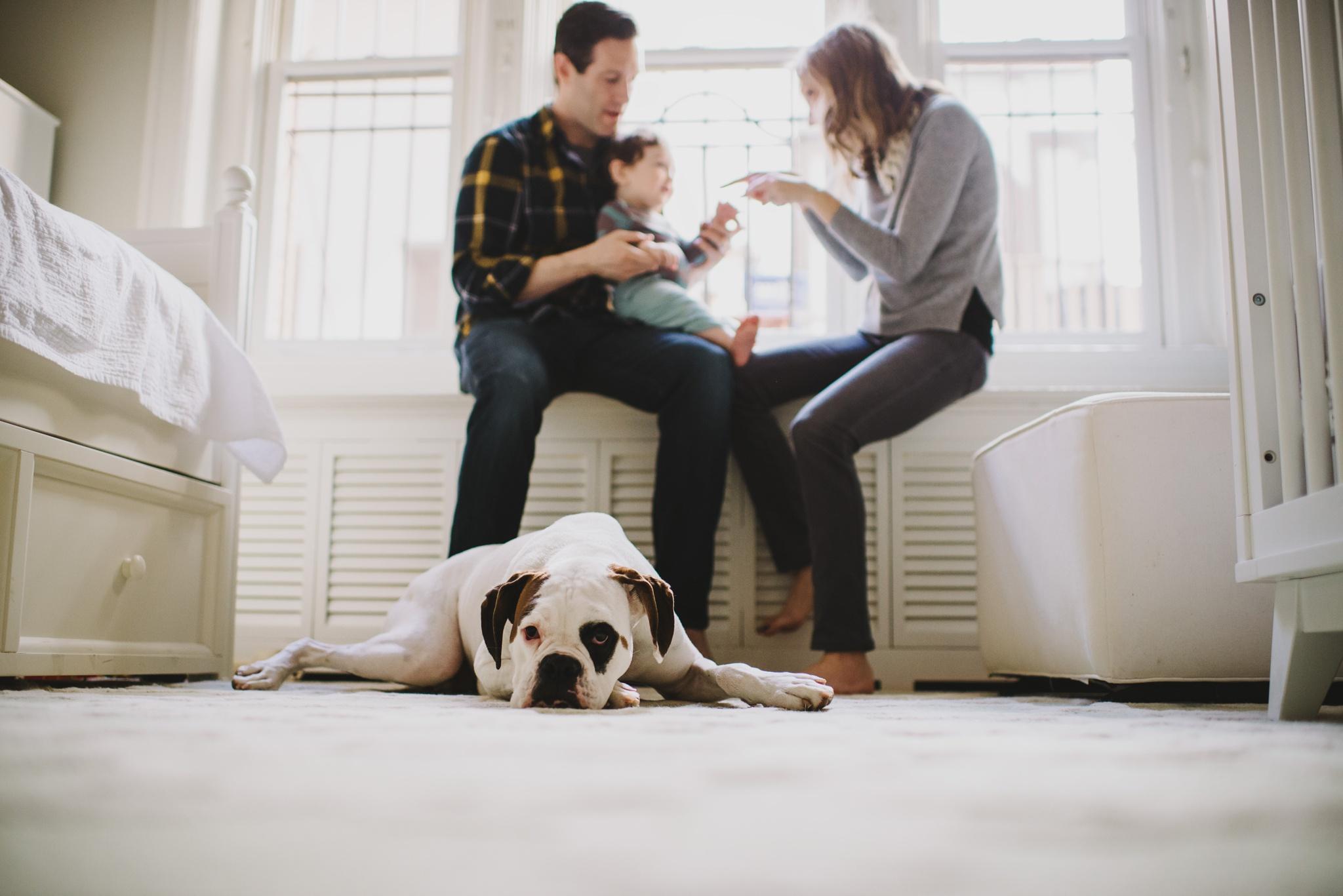 family of 3 // DC Family Photographer Yasmina Cowan
