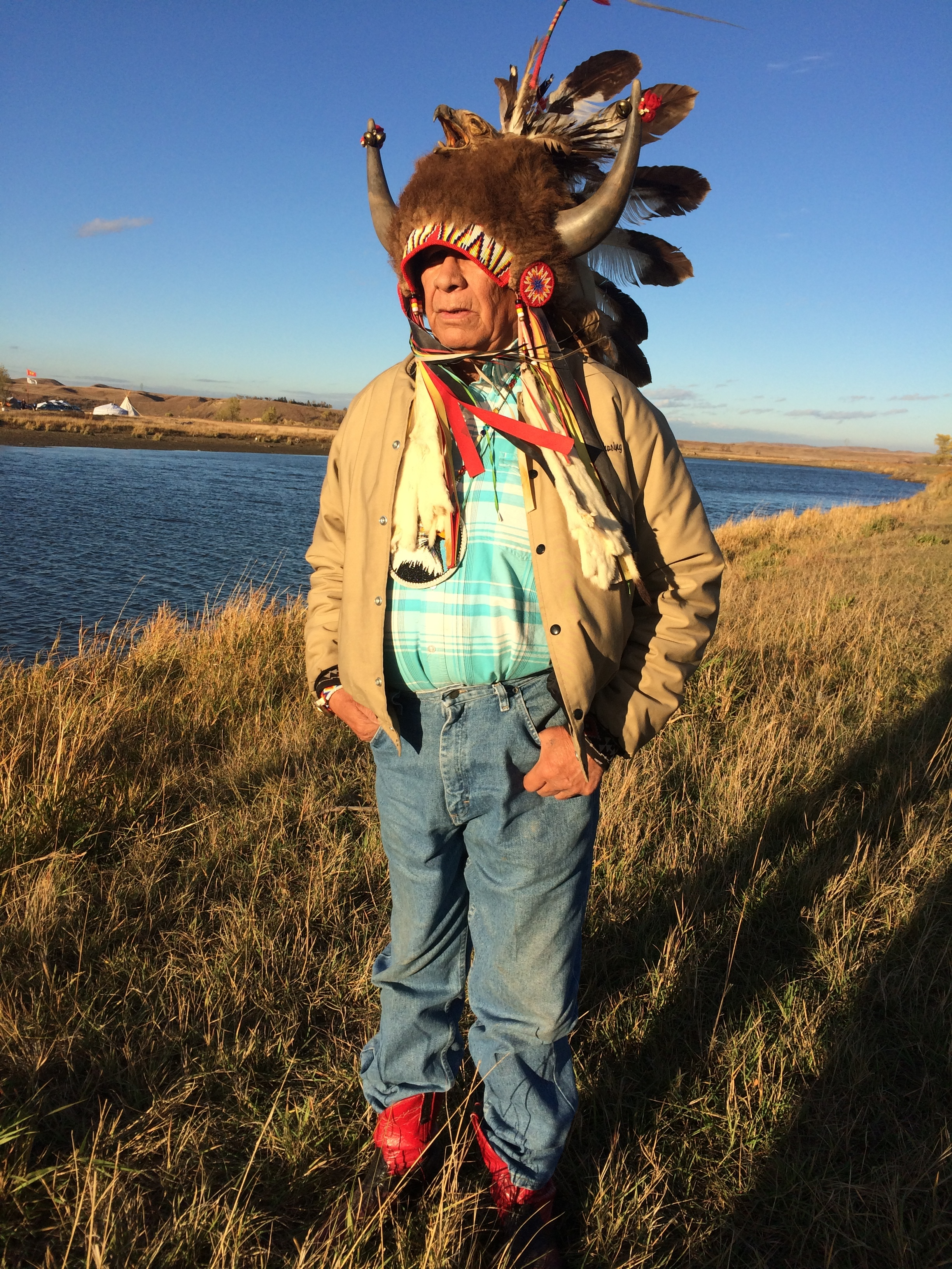 Ronnie Ronnie Chasing Eagle, Standing Rock, ND