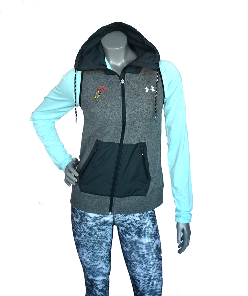 UA COLDGEAR® INFRARED HYBRID VEST WITH CHARM CITY RUN LOGO    Shop Now >