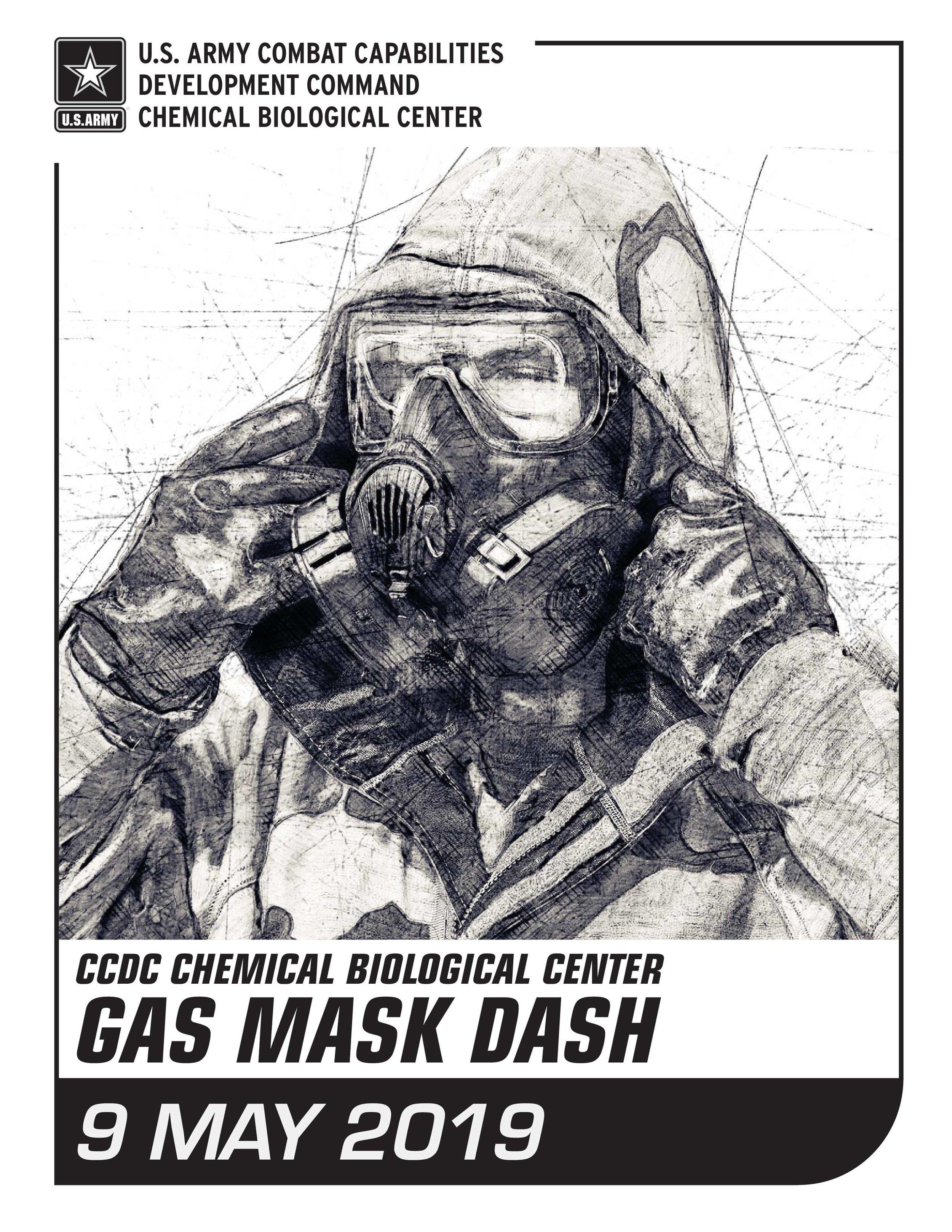 CCDC Chemical Biological Center Gas Mask Dash — Charm City Run