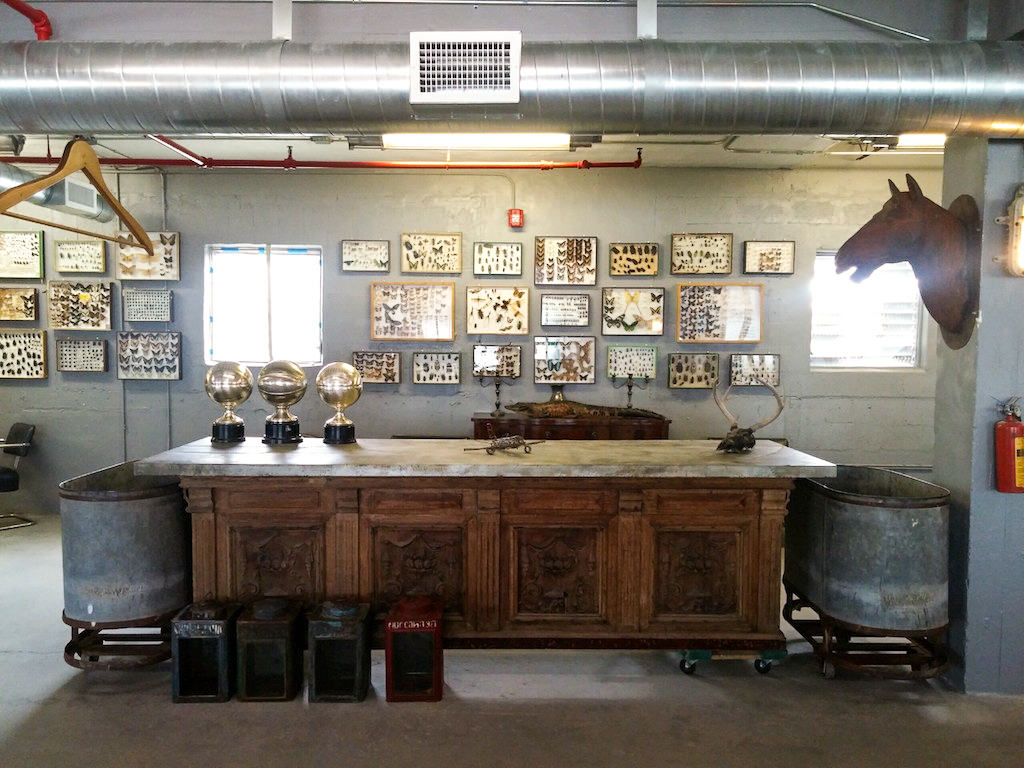 The inspectors room