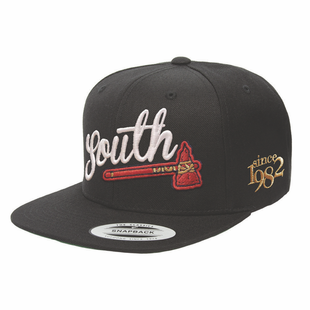 Home of the Brave - Black on Black Snapback