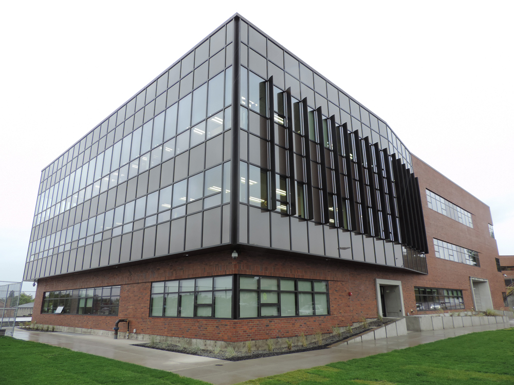 North Central HS Science Building, Spokane
