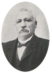 Don Pascual Harriague in 1880. ( Source )