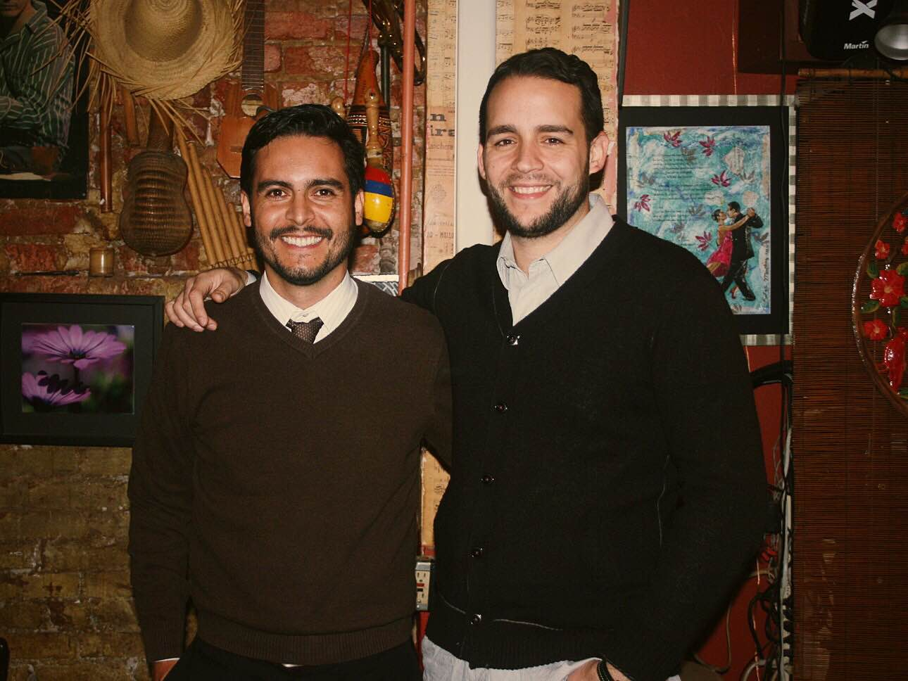 One of Grand Cata's first pop-up events in 2011 at Rumba Café in Adams Morgan. Before Grand Cata had a store space it was just an idea that moved from place to place, celebrating Latin wines and Latino culture.