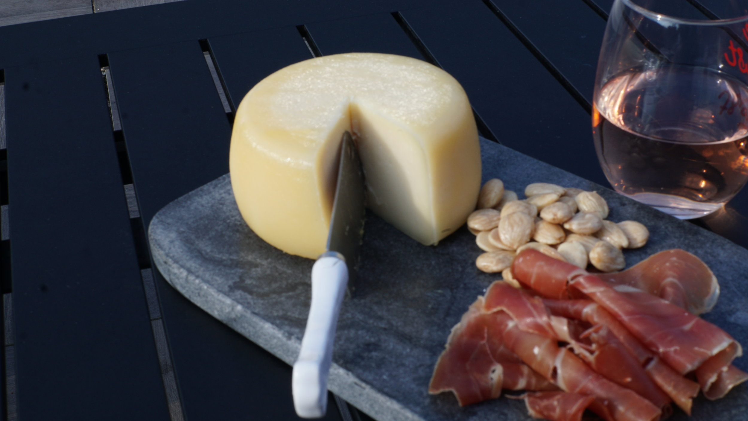 Meat, cheese and almonds we carry at the store. These would work great for our picnic on the Mall suggestion!