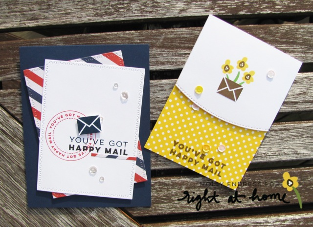 Happy Mail Year 3 Stamp Set by Right at Home Shop