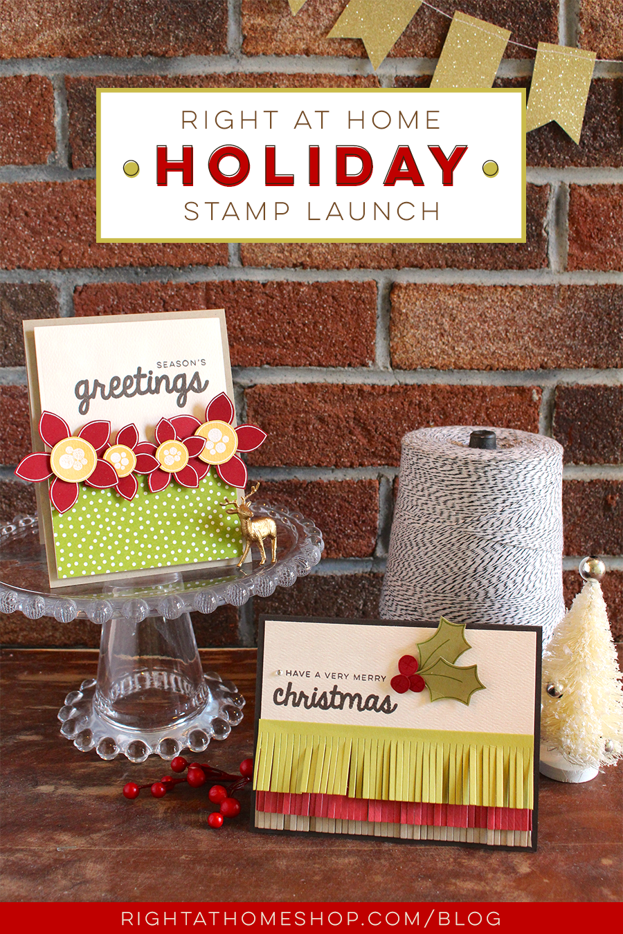 Right at Home Stamps Holiday Release Now Available
