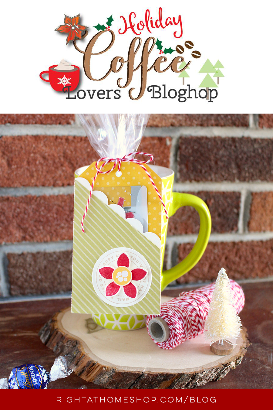 Coffee Lovers Blog Hop // Holiday 2015 - Right at Home Shop
