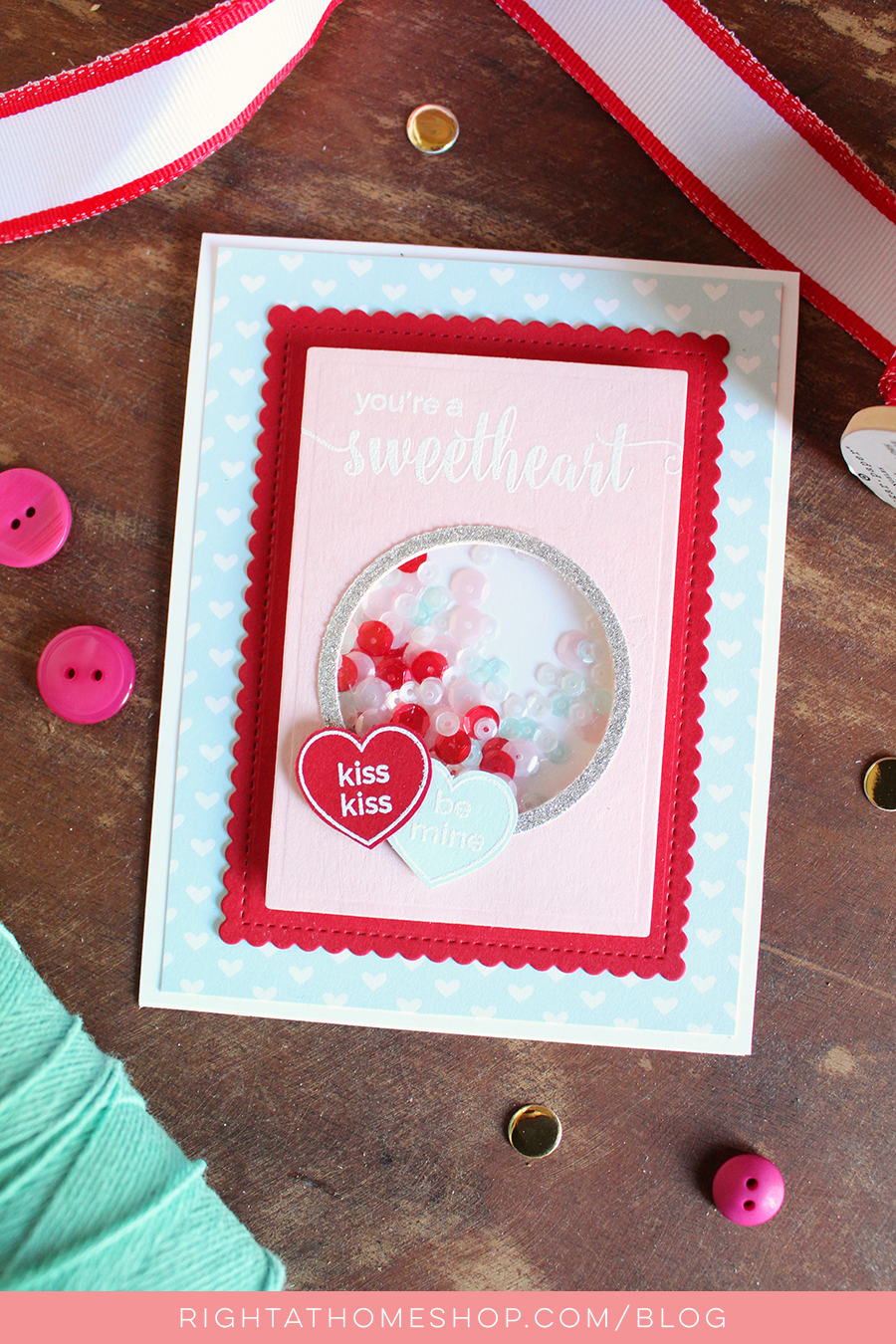 Home is Where the Heart Is Blog Hop // Right at Home January Release - Right at Home Shop