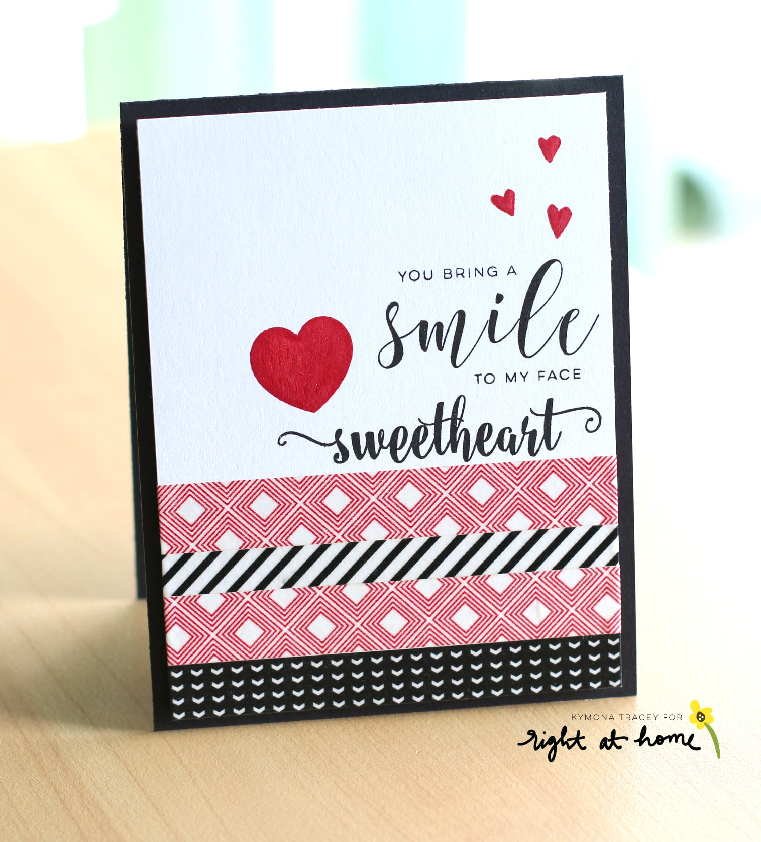 ou Bring a Smile to My Face by Kymona // Right at Home Design Team - Right at Home Shop