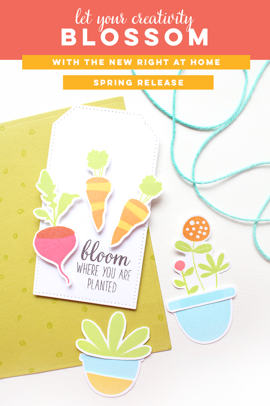 Right at Home Stamps Spring Release Now Available - Right at Home Shop // rightathomeshop.com