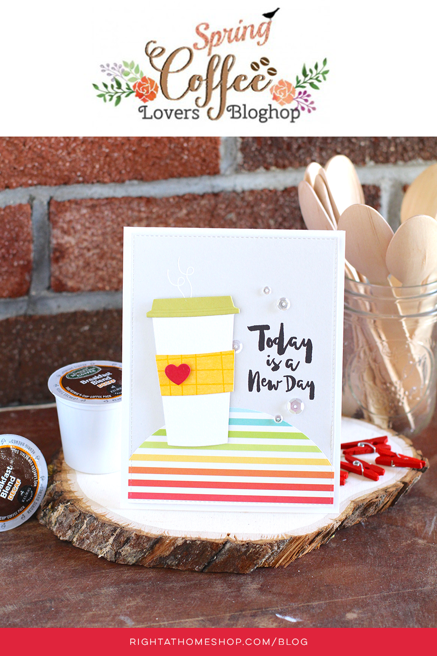 Coffee Lovers Blog Hop // Spring 2016 - rightathomeshop.com/blog