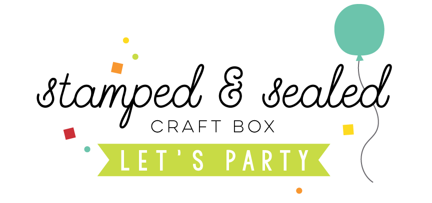 May Stamped & Sealed Craft Box // Mood Board Inspiration - rightathomeshop.com/blog