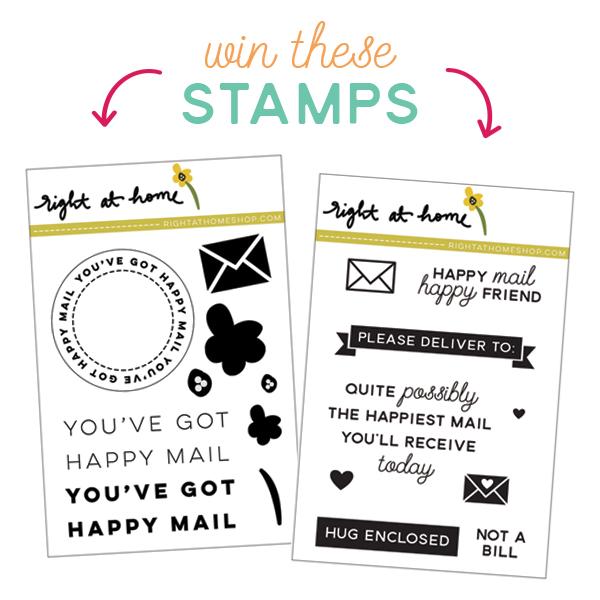 Right at Home Stamps One Year Celebration Blog Hop // rightathomeshop.com/blog