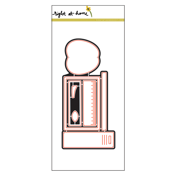 Right at Home Stamps // Back to School Die Set