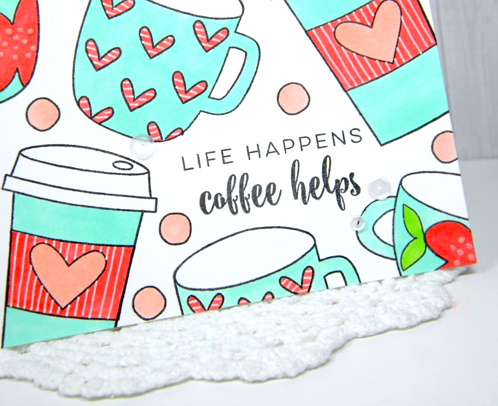 Life Happens Coffee Helps Card by Melissa // Gilmore Girls Inspired Post Week - rightathomeshop.com/blog