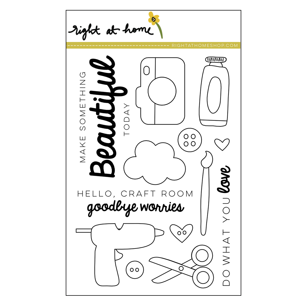 Right at Home Stamps // Make Something Beautiful