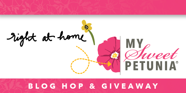 Right at Home x My Sweet Petunia MISTI Blog Hop