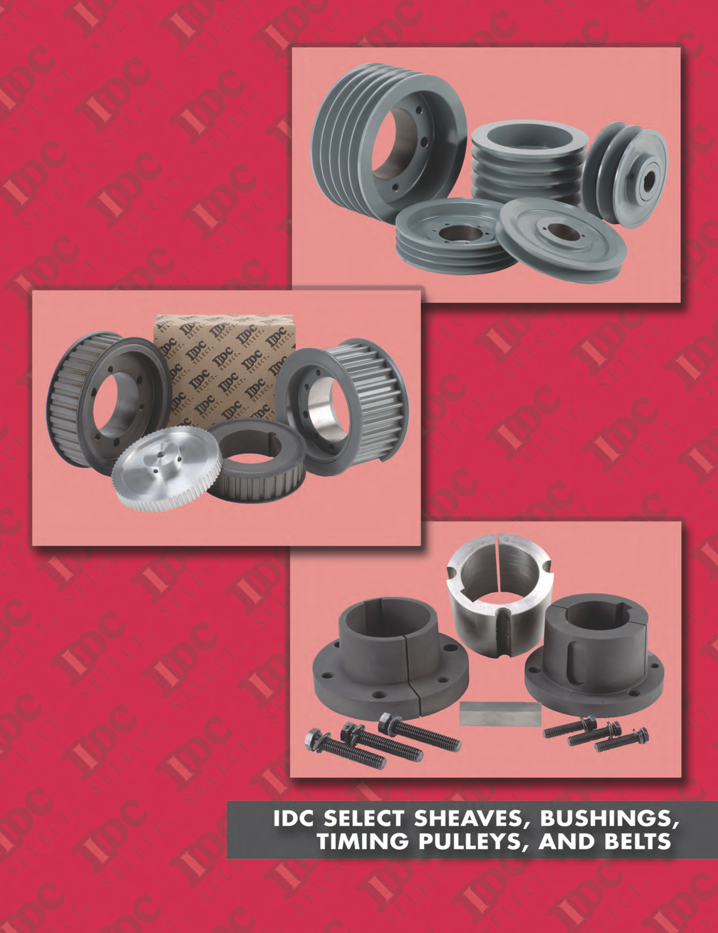 IDC Select Sheave, Bushings, Pulleys, and Belts