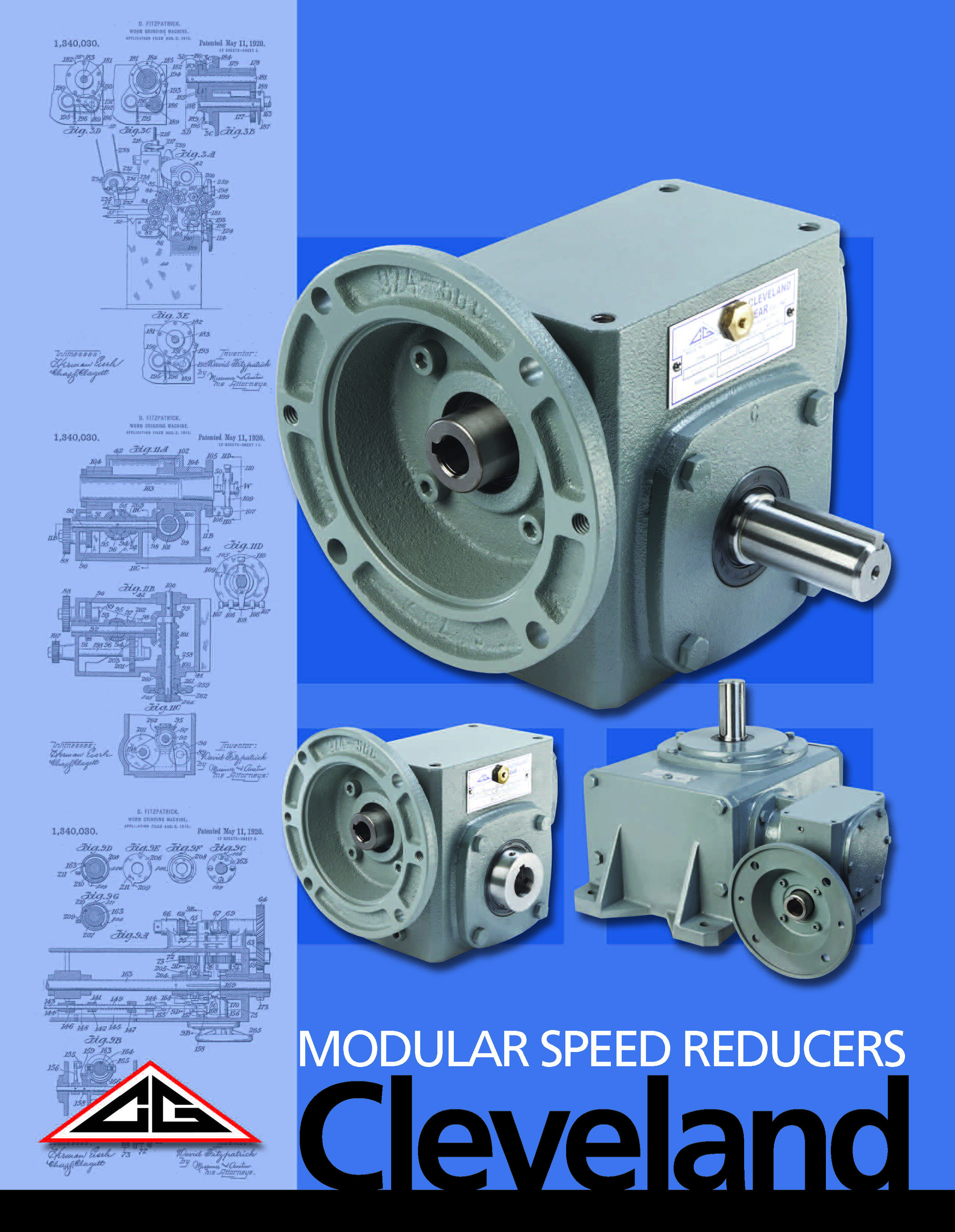 Cleveland Modular Worm Gearboxes