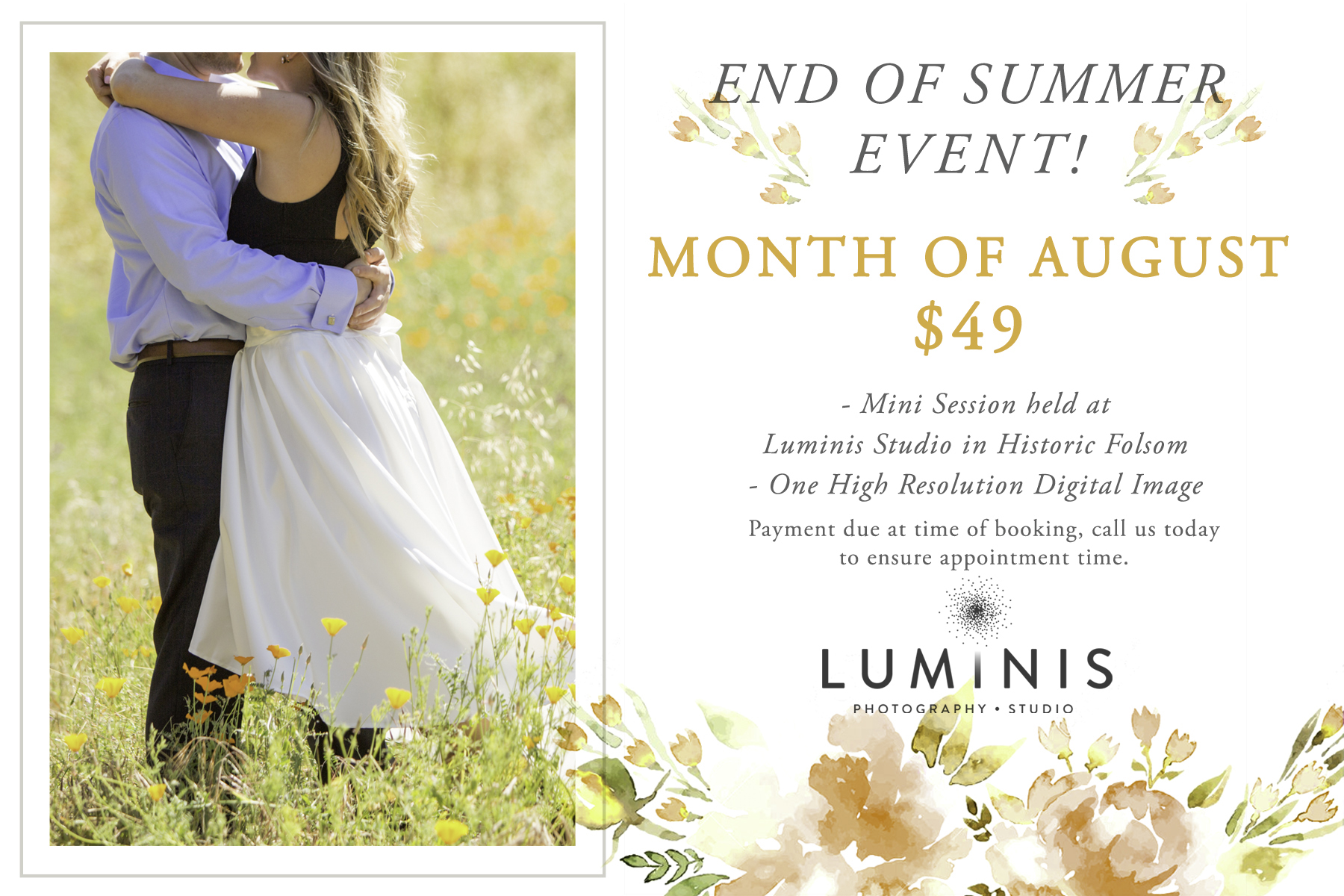 Luminis Photography Studio End of Summer Event