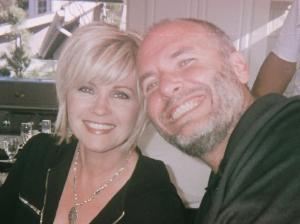 My wife Michelle and I on a getaway together, with no guide.