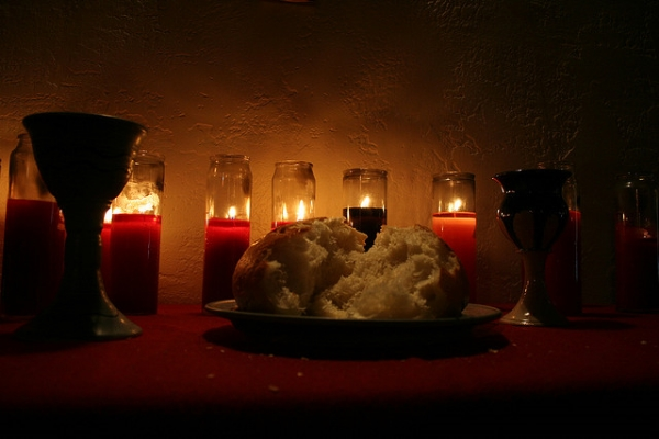Communion can point guests upward toward God in powerful and creative ways.