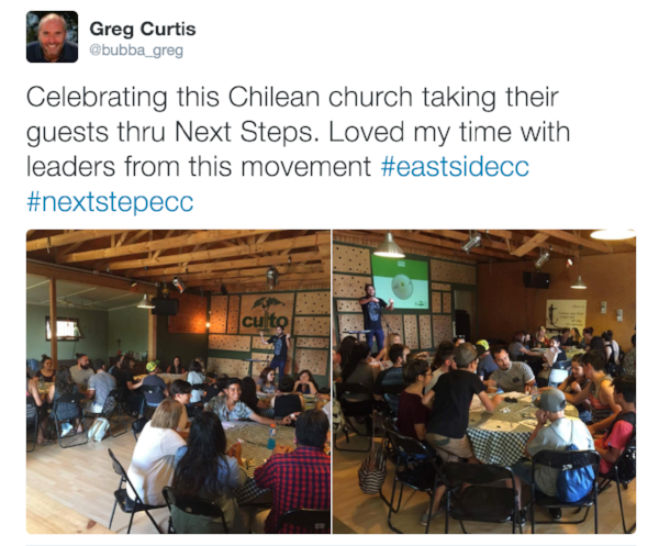 A Church in Santiago Chile experiencing immediate results from working these assimilation principals in their context.
