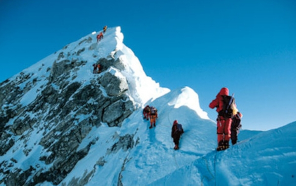 Sherpas with others near top.jpg