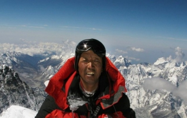Meet Apa Sherpa. He has reached the summit of Everest 22 times.
