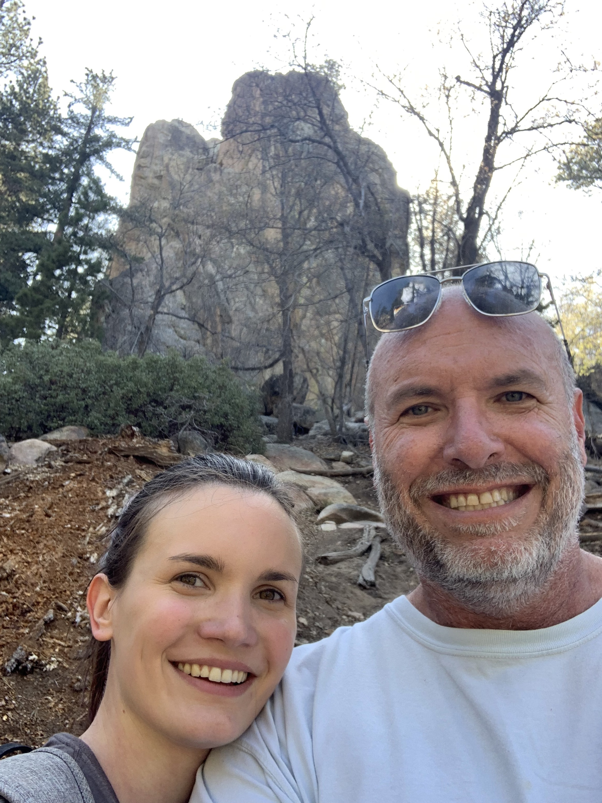 This is me and my daughter Carly making our ascent toward Castle Rock (in the background) above Big Bear Lake California. As we hiked, bouldered and climbed, I had 5 powerful things illustrated to me as a Connector in a local church. Scroll down this photo journal to see what I learned.