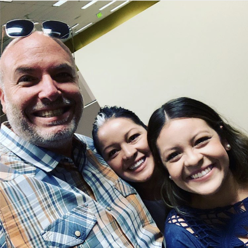 This is me, Ariel and Esther (Ariel's mom) after praying along with many of our staff for Ariel as she left for South America to serve in our movement down there.