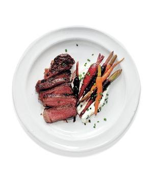 SteakCarrotsChevre
